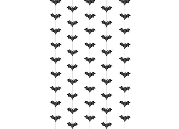 Hanging Bats Garland x 5