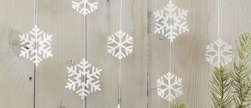 Snowflake Shaped Garland