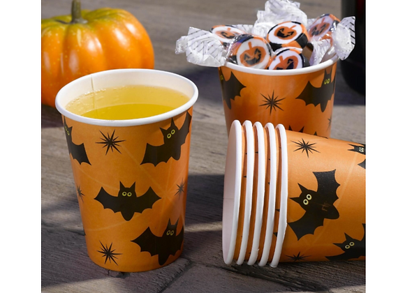 Halloween Party Cups x 8