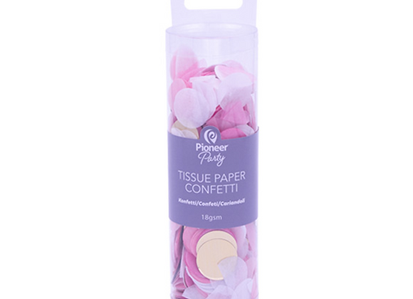 Confetti - Pink And Gold
