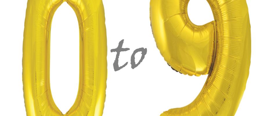 Gold 34 Inch Metallic Helium Filled Balloons