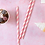 Thumbnail: Pink And White Striped Straws