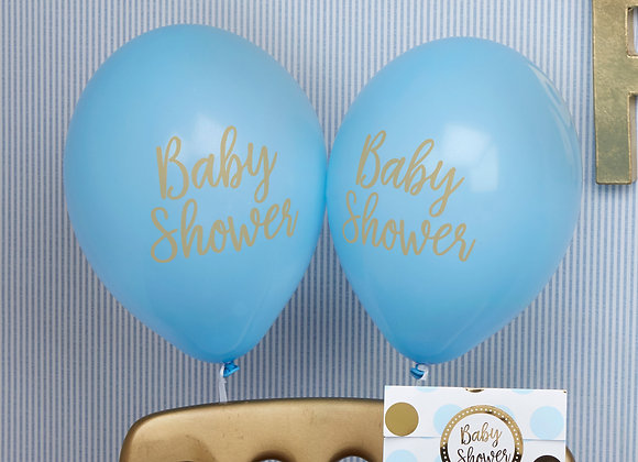 Baby Shower Blue Balloons