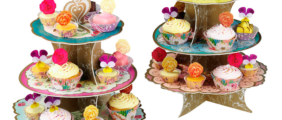 Floral Pop Up Cake Stand