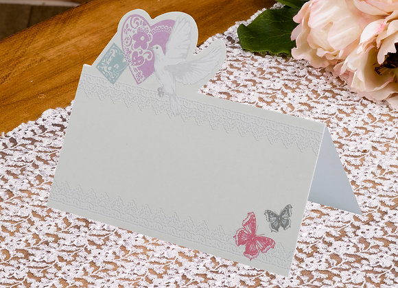 Floral Design Place Cards