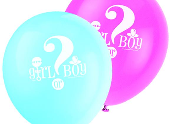 Boy Or Girl Balloons
