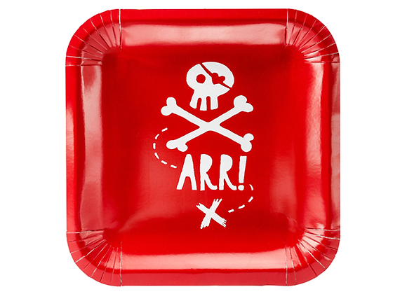 Pirate Party Plates (x 6)