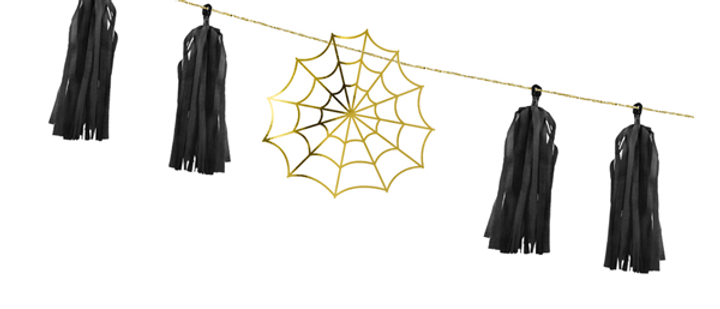 Spiderweb Garland Kit