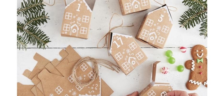 Advent Calendar Kit - Gingerbread Houses