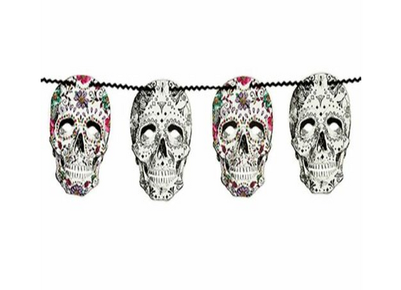 Day Of The Dead Garland