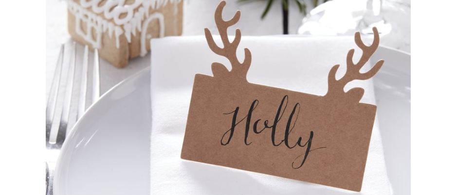 Stags Head Place Cards x 10