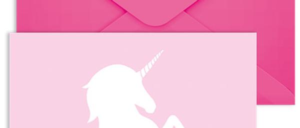 Unicorn Party Invites