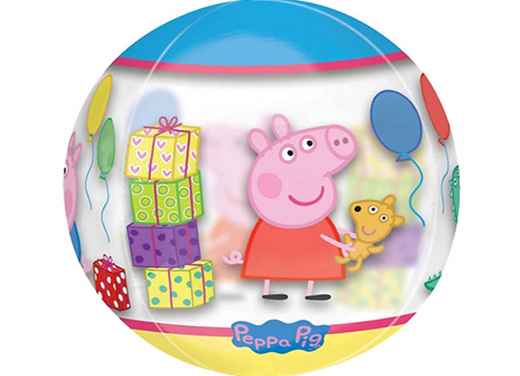 """Inflated Peppa Pig 16"""" Orbz Balloon"""