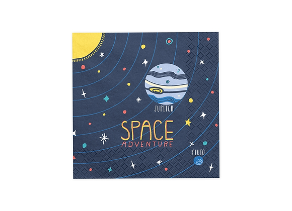 Space Party Paper Napkins