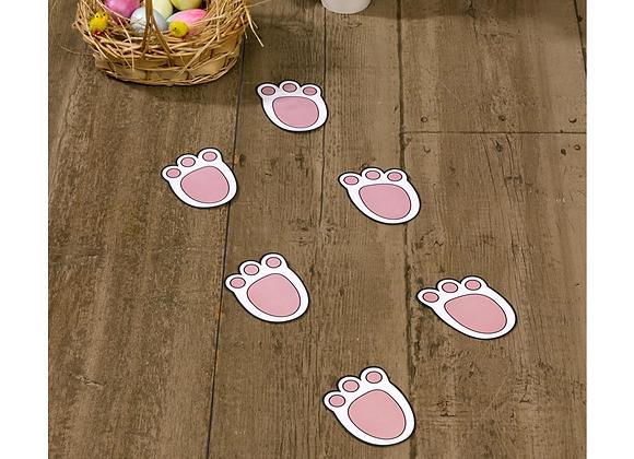 Easter Bunny Footprints (x 12)