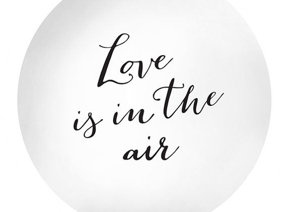 Love Is In The Air Giant Balloon