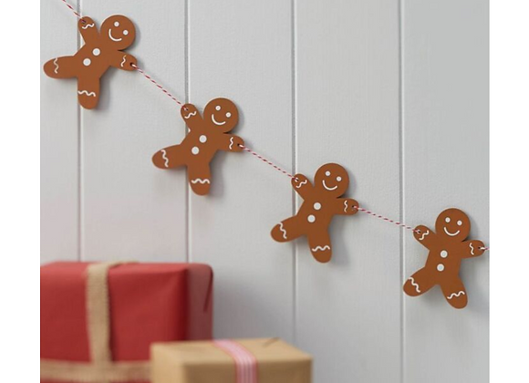 hanging Christmas decoration, gingerbread man decoration, Ginger Ray Christmas decorations