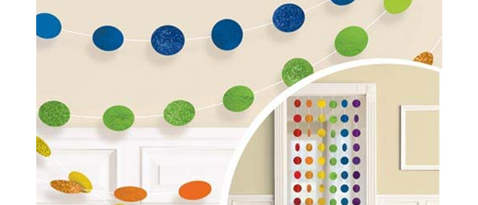 rainbow party decorations, rainbow party, decorations for a rainbow themed party, summer party decorations