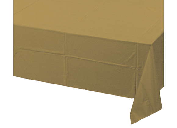 Gold Poly Tissue Table Cover