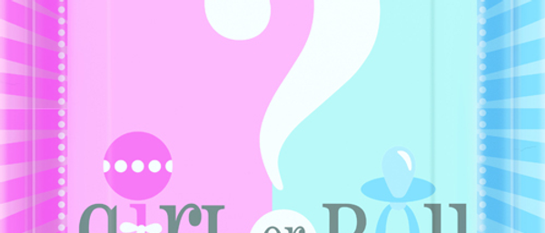 Gender Reveal Party Plates