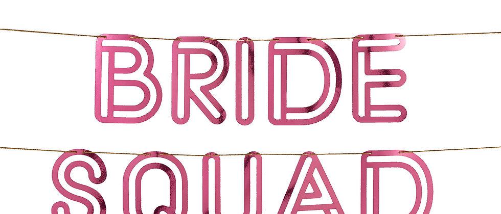 Bride Squad Garland