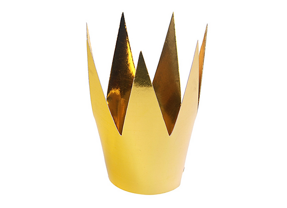 Party Crowns - Gold x 3