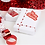 Thumbnail: Christmas Red And White Gift Wrapping Set