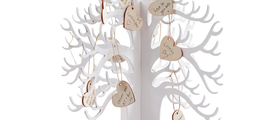 Wooded Wishing Tree - Guest Book Alternative