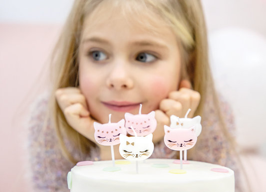 Kitty Shaped Candles