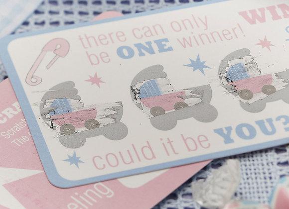 Tiny Feet Scratch Cards
