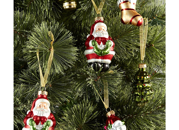 Christmas tree decorations , traditional Christmas tree decorations, mini Christmas tree decorations