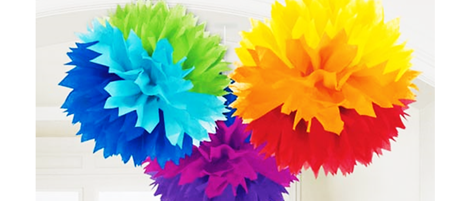 rainbow party decorations, decorations for a rainbow party, summer party decorations, bright party decorations