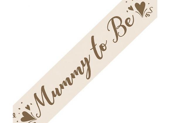 Mummy To Be Sash