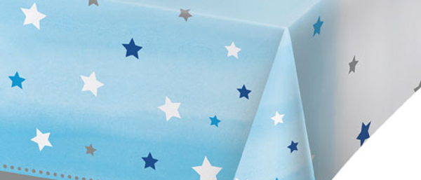 Blue Star Table Cover