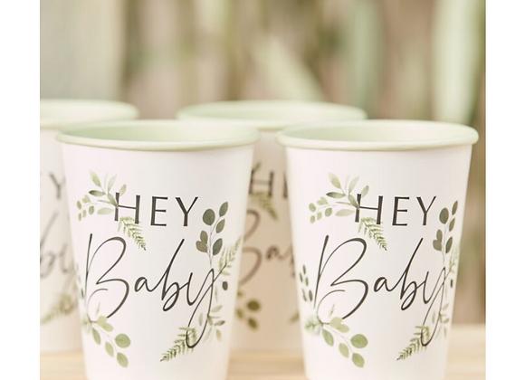 baby shower tableware, modern baby shower range, cute baby shower, baby shower paper cups