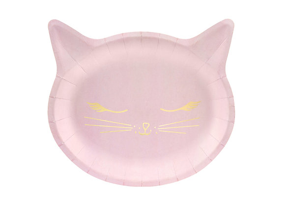 Pink Kitty PaperPlates