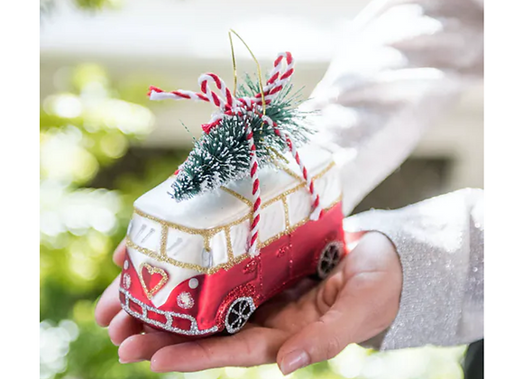 Camper Van With Tree Bauble