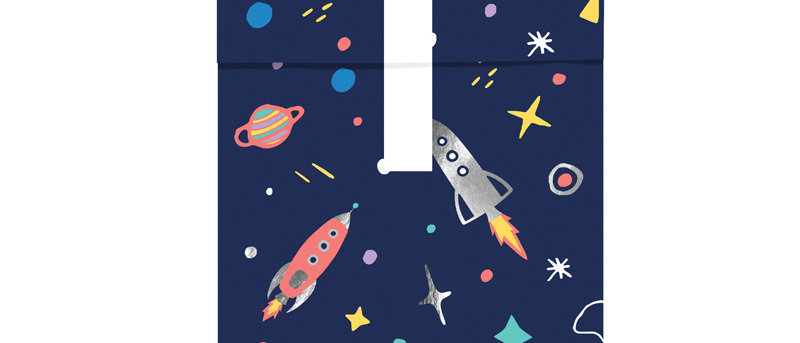 Space Party Treat Bags
