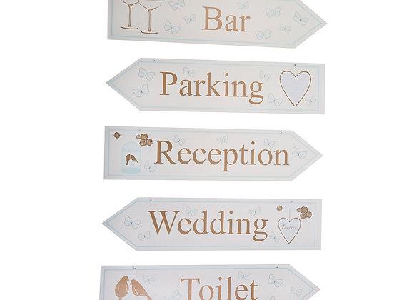 Wedding Venue Signs