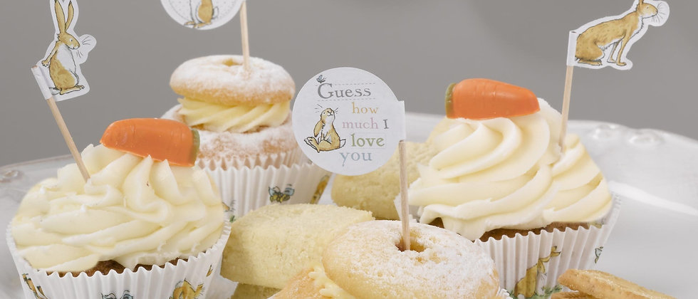 Guess How Much I Love You Cupcake Picks