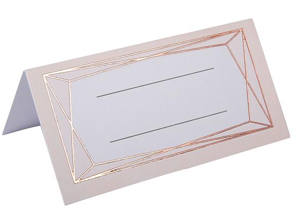 Rose Gold Design Place Cards