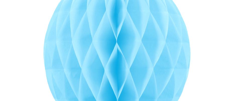 Light Blue Honeycomb Ball