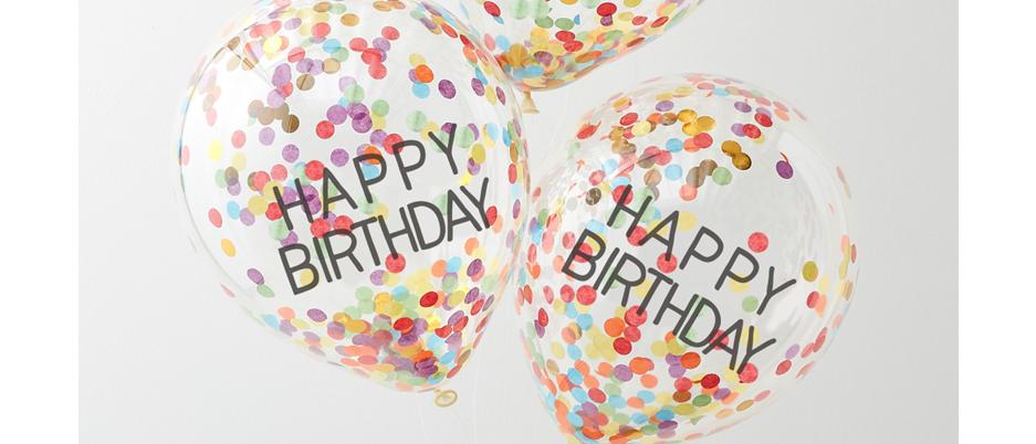 rainbow balloons, rainbow happy birthday balloons, balloons for a rainbow party