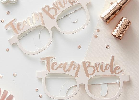 Team bride hen party props