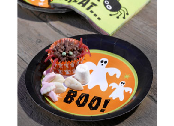 Halloween Party Plates x 8