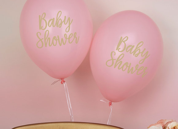 Baby Shower Pink Balloons