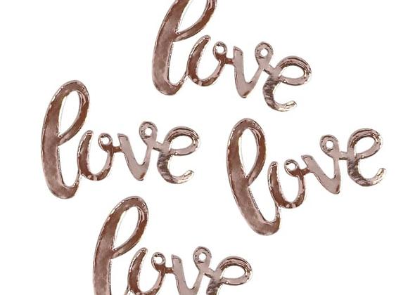 Rose Gold Love Table Confetti