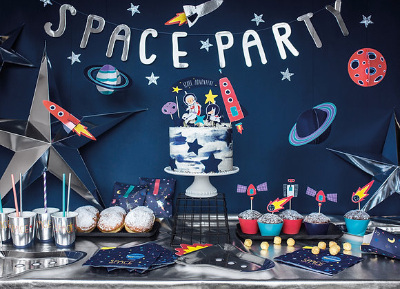 Space Party Garland