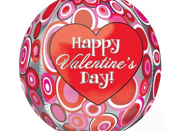 "Happy Valentine's Day Bubble Balloon 22"""