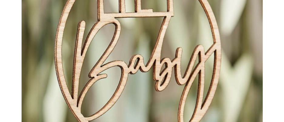 baby shower cake topper, cake topper for a baby shower, hey baby cake topper